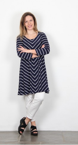 Two Danes Bryce Tunic French Navy