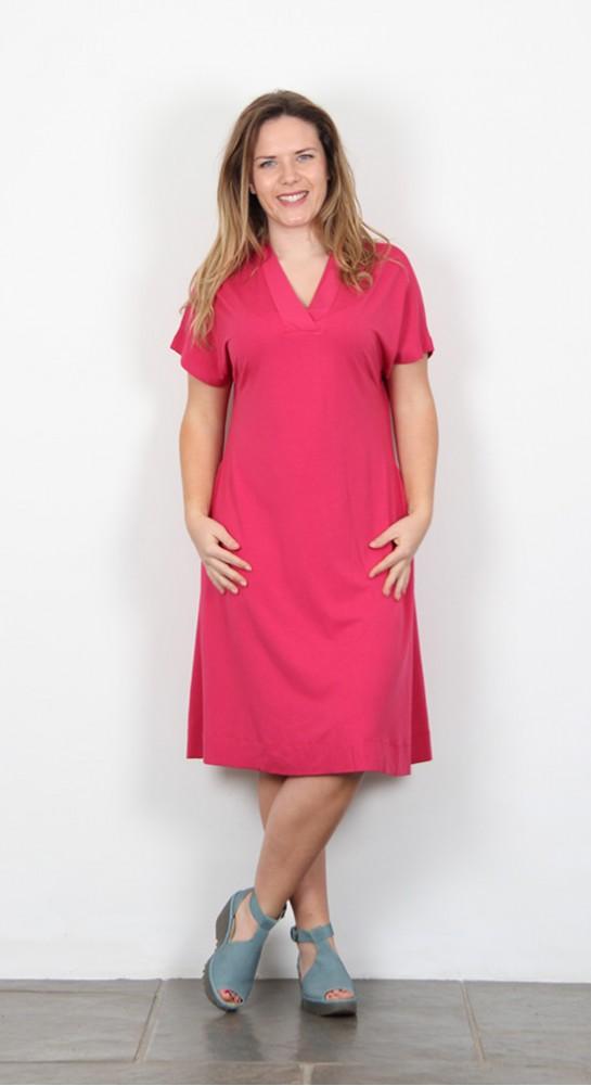 Two Danes Blythe Dress Raspberry