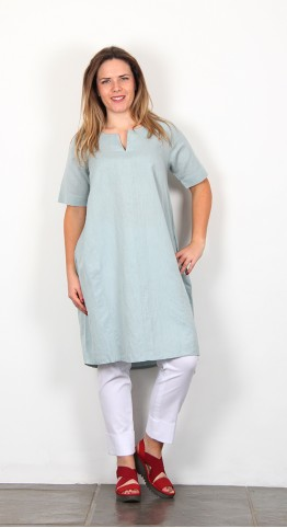 Two Danes Laica Dress Misty Green