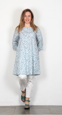 Two Danes Thorid Tunic/Dress Aqua