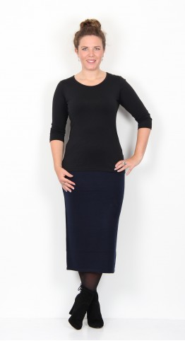 Two Danes Meredith Skirt Midnight