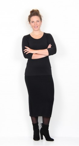 Two Danes Meredith Skirt Black