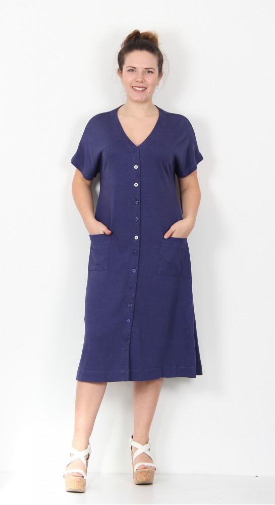Two Danes Henny Dress Sailor Blue
