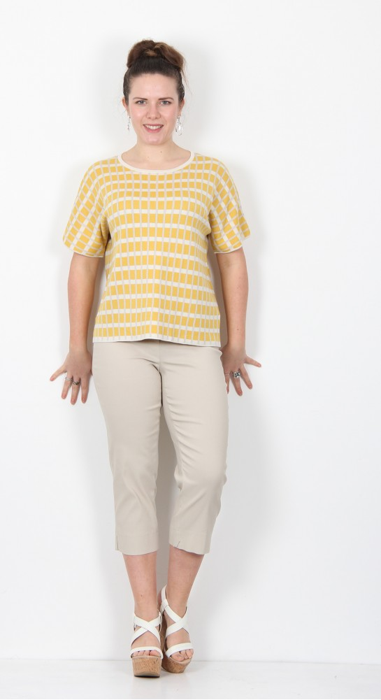 Two Danes Nynne Knit Bamboo Check