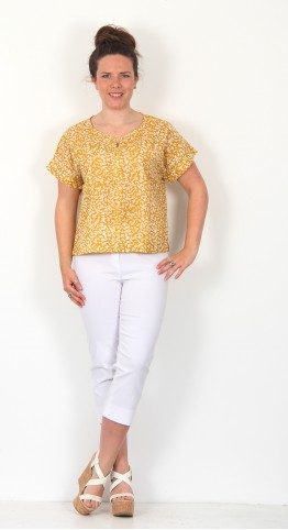 Two Danes Rena Cotton Top Honey