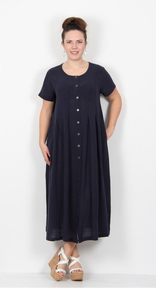 Two Danes Genevieve Dress Dark Navy