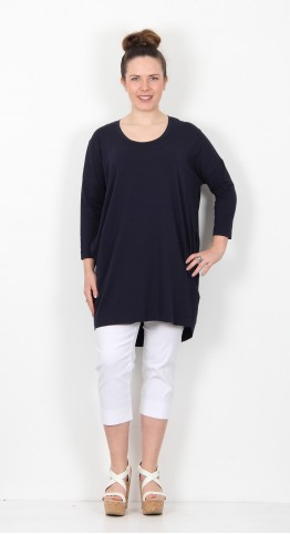 Two Danes Barbro Tunic Dark Navy