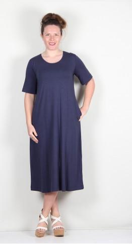 Two Danes Byanka Dress Bamboo/Cotton Jersey Mood Indigo