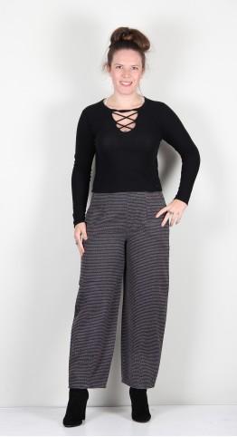 Two Danes Willa Trousers Black Combo