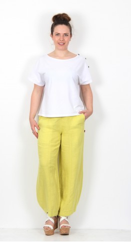Vetono Bubble Pant Citron