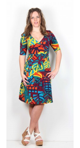 Zilch Clothing African Mimosa Dress