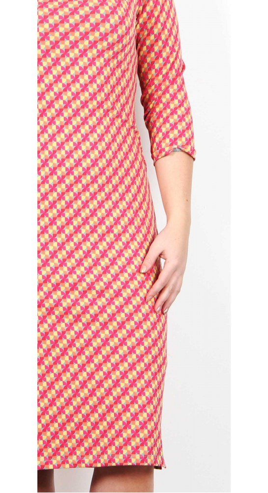 Zilch Clothing Tulip Dress Coral