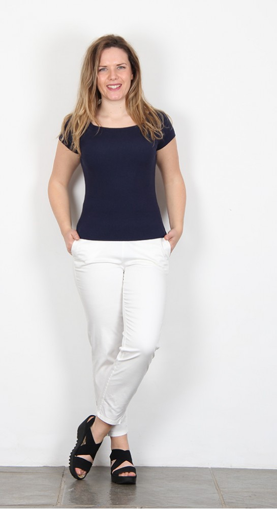 Zilch Clothing Knit Top Navy