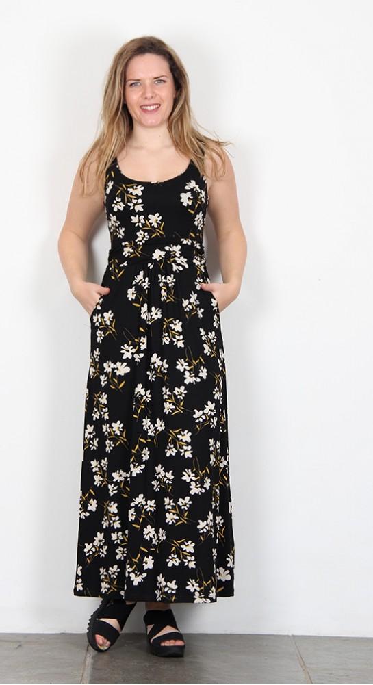Zilch Clothing Daisy Maxi Dress Black
