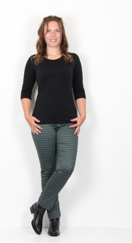 Zilch Clothing Honeycombe Trouser Pesto