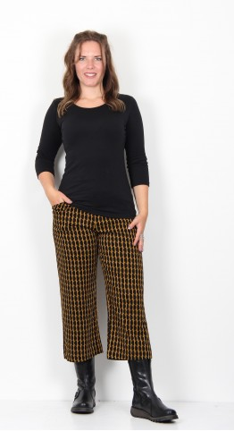 Zilch Clothing Moon Culotte Mustard